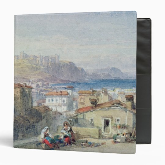 Naples, 19th century; watercolour; binder