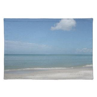 naples beach place mats