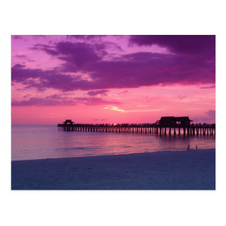 Naples Beach Play Postcard