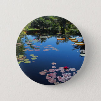 Naples Botanical Garden Water Lilies Button
