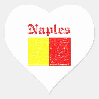 Naples City Designs Heart Sticker