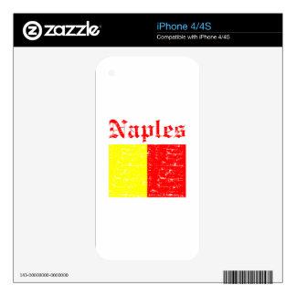 Naples City Designs iPhone 4 Decal