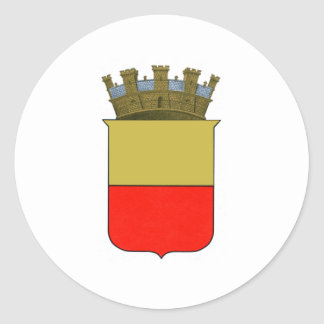 Naples Coat of Arms Classic Round Sticker