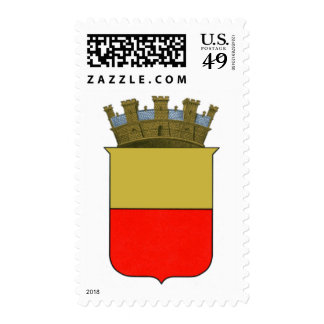 Naples Coat of Arms Postage