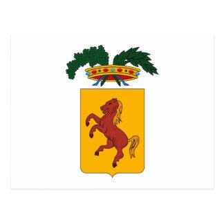 Naples Coat of Arms Postcard