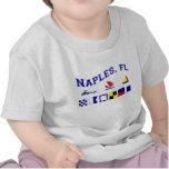 Naples, FL w/ Maritime Flags Tees