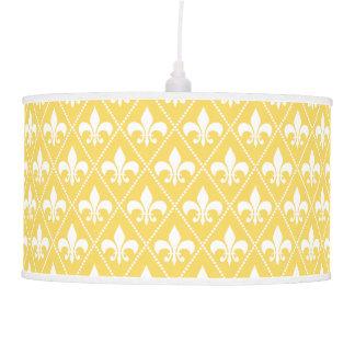 Naples Fleur de Lis Ceiling Lamp