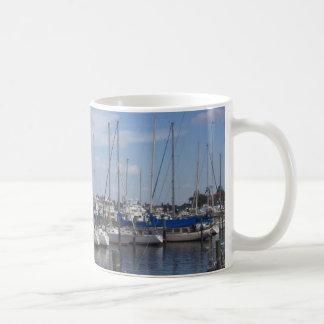 Naples Florida Boat Dock Mugs