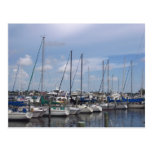 Naples Florida Boat Dock Postcards