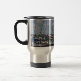 Naples Florida Boat Dock Travel Mug