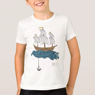 Naples Florida Ship T-Shirt