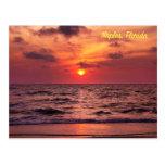 naples, florida postcard, florida, sunset
