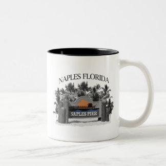Naples Florida Two-Tone Coffee Mug