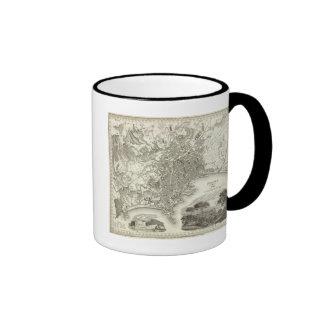 Naples, Italy Ringer Coffee Mug