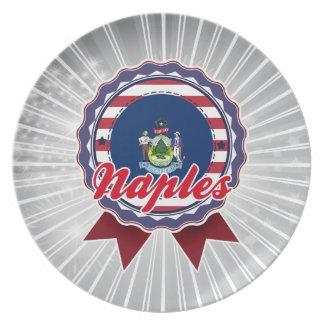 Naples, ME Party Plate