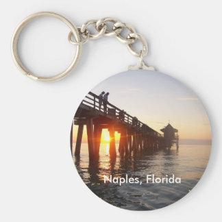 Naples Pier Keychains
