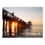 Naples Pier Postcard