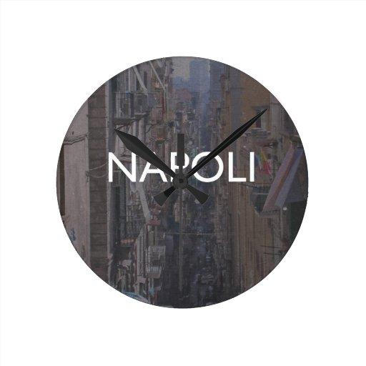 Naples Round Clocks