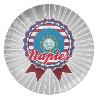 Naples, SD Party Plate