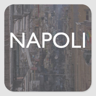 Naples Square Stickers