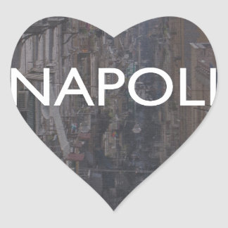 Naples Heart Sticker