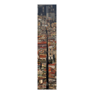Naples street poster