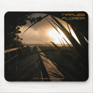 Naples Sunset Mouse Pads