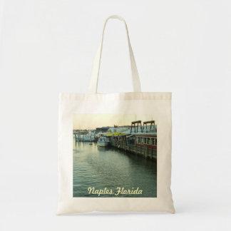 Naples Tin City Tote Bag