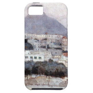 Naples. Vesuvius. by Vasily Surikov iPhone SE/5/5s Case