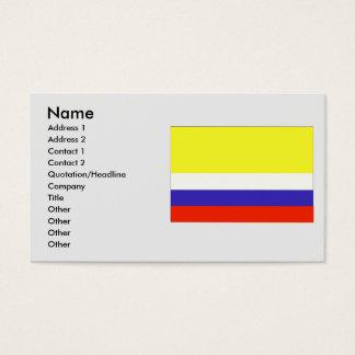 Napo, Equador Business Card