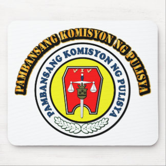 NAPOLCOM LOGO with Text Mouse Pad