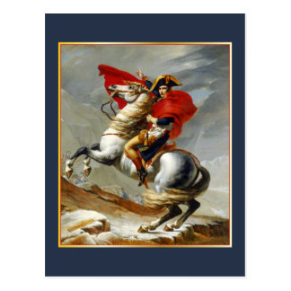 Napolean Bonaparte by Jacques Louis David Postcard
