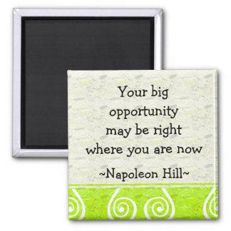 Napolean Hill Quotes 1 - Motivational Magnet