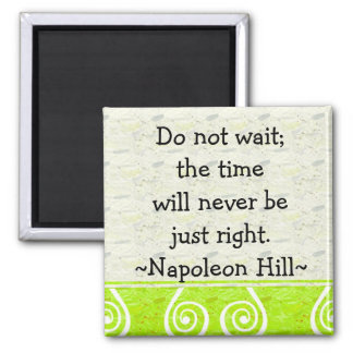 Napolean Hill Quotes(2) - Motivational Magnet