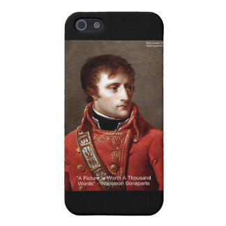 "Napoleon ""1000 Words"" Tees, Mugs, Cards, Gifts Etc iPhone SE/5/5s Case"