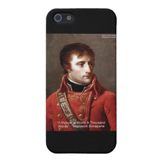 "Napoleon ""1000 Words"" Tees, Mugs, Cards, Gifts Etc iPhone SE/5/5s Cover"