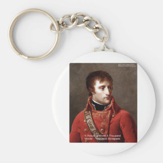 "Napoleon ""1000 Words"" Tees, Mugs, Cards, Gifts Etc Keychain"