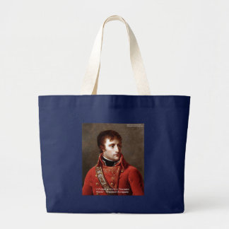 """Napoleon """"1000 Words"""" Tees, Mugs, Cards, Gifts Etc Large Tote Bag"""