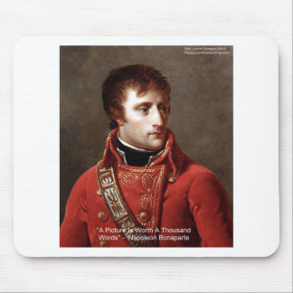 "Napoleon ""1000 Words"" Tees, Mugs, Cards, Gifts Etc Mouse Pad"