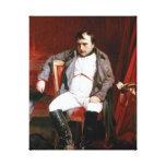 'Napoleon Abdicating Fountainbleu' Gallery Wrapped Canvas