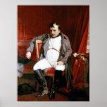 'Napoleon Abdicating Fountainbleu' Poster