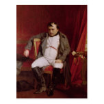 Napoleon  after his Abdication Postcard