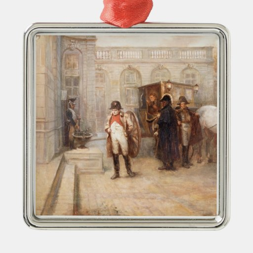Napoleon after Waterloo (oil on canvas) Christmas Tree Ornaments