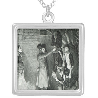 Napoleon and Coignet Silver Plated Necklace