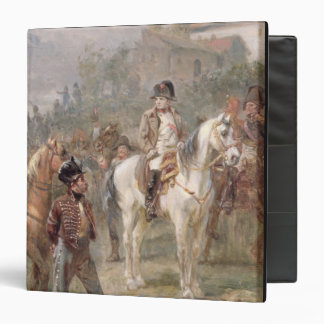 Napoleon and his Troops (oil on panel) (pair of 12 3 Ring Binder