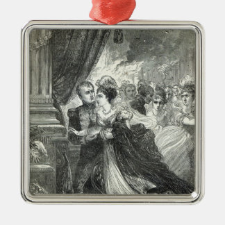 Napoleon and Marie-Louise escaping from the Christmas Tree Ornaments