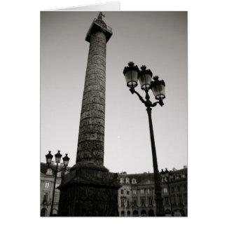 Napoleon and Place Vendome Card