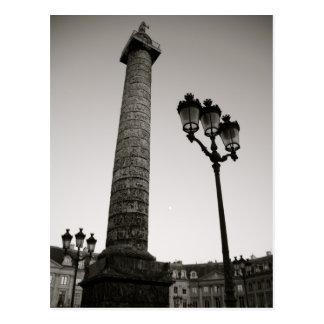 Napoleon and Place Vendome Postcard