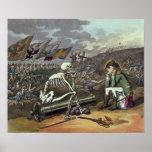 Napoleon and skeleton, 18th poster