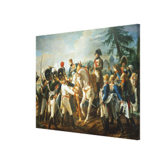 Napoleon and the Bavarian and Wurttemberg Canvas Print